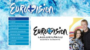 YLEn Euroviisusivusto