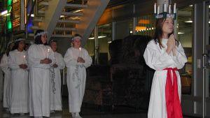 Lucia-kulkue Vaasassa 2007.