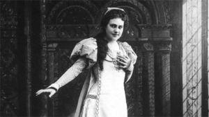 Oopperalaulaja Aino Ackté.