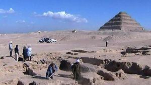 Arkeologisia kaivauksia Egyptissä