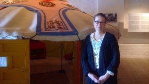 Liikkuva Koti- näyttelyn käsikirjoittaja on Pilvi Vainonen Kulttuurimuseosta