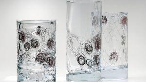 Ursula Huthin lasitaidetta