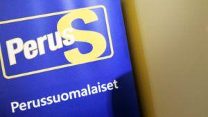 Perussuomalaisten logo.