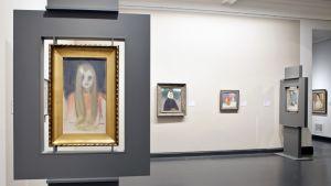 Helene Schjerfbeckin näyttely Ateneumissa.