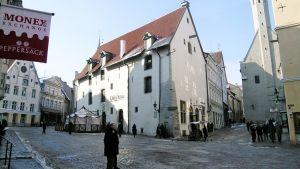 Tallinnan vanhakaupunki.