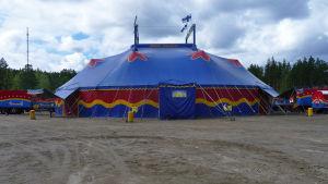 Sirkus Finlandian sirkusteltta