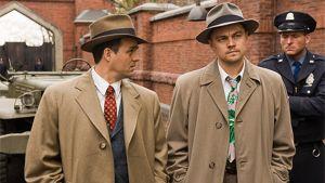 Nättelijät Mark Ruffalo ja Leonardo diCaprio elokuvassa Suljettu saari.