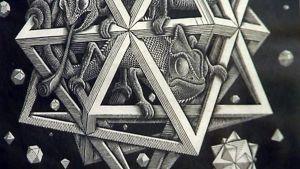 M.C. Escherin teos Tähdet