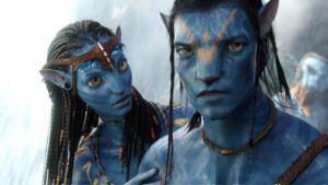 James Cameronin ohjaama 3D-elokuva Avatar.