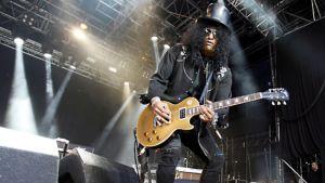 Slash esiintymässä Quart Music -festareilla Kristiansandissa Norjassa 30. kesäkuuta 2009