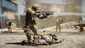 Kuva sotilaasta pelissä Battlefield: Bad Company 2