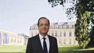 Francois Hollanden virallinen muotokuva.