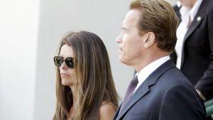 Arnold Schwarzenegger ja Maria Shriver.