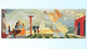 Tove Janssonin maalaus Fantasia.