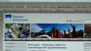 Kuva Rauma kommunen nettisivuista