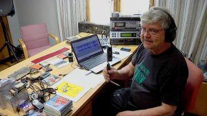 Juha Junnonen Lemin kotiseuturadion talkoolainen