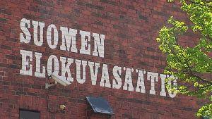 Suomen elokuvasäätiön rakennus.