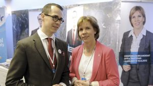 Carl Haglund ja Anna-maja Henriksson