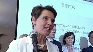Vallila Interiorin toimitusjohtaja Anne Berner valittiin tiistaina Uusi lastensairaala 2017 -tukiyhdistyksen puheenjohtajaksi.