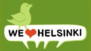 We Love Helsinki -kollektiivin logo.