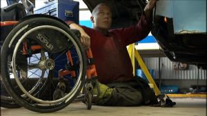 Jokaisella ihmisellä on se vamma mikä on ja niillä mennään mitä on, sanoo Jens Nyberg.