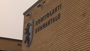 Kontiolahden kunnantalo.