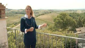 Ella Kanninen Toscanassa.