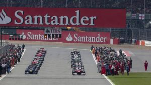 Formula 1 yleiskuva Silverstone