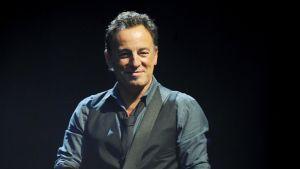 Bruce Springsteen kesäkuussa Milanossa, Italiassa.