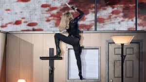 Madonnan show Pariisissa 14. heinäkuuta.