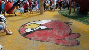 Angry Birds - puisto Porin torilla
