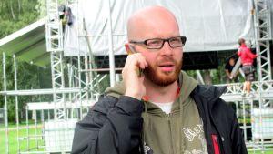 festivaalin promoottori Mikko Hansson