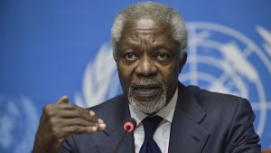 Kofi Annan Genevessä 30. kesäkuuta 2012.