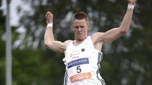 Roni Ollikainen jäi yllättäen neljänneksi Lappeenrannan Eliittikisassa.
