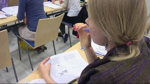 Suomen kielen opiskelija