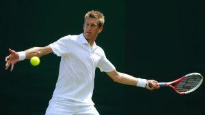 Jarkko Nieminen Wimbledonissa.