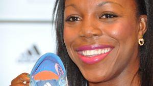 Veronica Campbell-Brown hakee kolmatta perättäistä olympiakultaa Lontoosta.