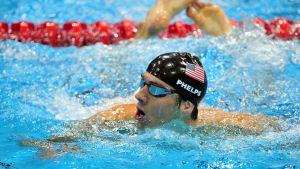 Michael Phelps päätti uransa olympiakultaan.
