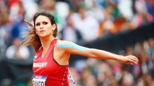 Leryn Franco karsiutui olympialaisten fnaalista noin yhdeksällä metrillä