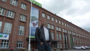 Nokian Renkaitten pääluottamusmies Petri Sorvali
