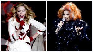 Madonna ja Björk