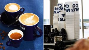 Kahvijuomia kupeissa