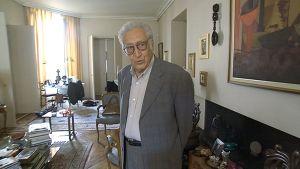 YK:n ja Arabiliiton Syyrian lähettiläs Lakhdar Brahimi.