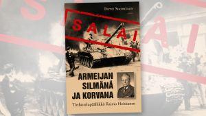 Armeijan silmänä ja korvana -kirjan kansi.