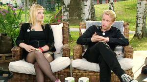 Laura Gustafsson ja Sakari Hokkanen.
