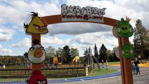 Angry Birds -leikkipuisto Rovaniemellä