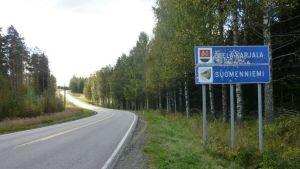 Suomenniemen nykyinen kuntaraja