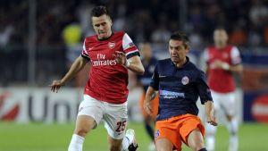 Carl Jenkinson Arsenal Anthony Mounier Montpellier