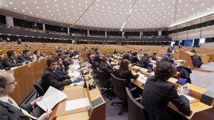 Euroopan parlamentti.
