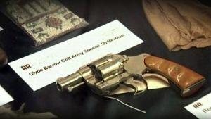 Clyde Barrowin Colt-revolveri